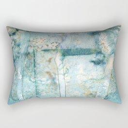 Water Damaged Rectangular Pillow