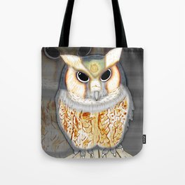 Conceptualized Owl Tote Bag