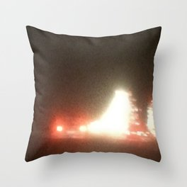 Abstracte Light Art in the Dark 13 Throw Pillow
