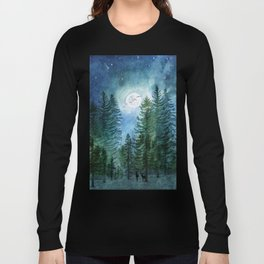 Silent Forest Long Sleeve T-shirt