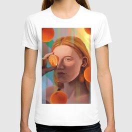Orange Looking Glass T-shirt