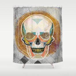 Another Skull Shower Curtain