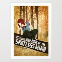 eternal sunshine Art Prints featuring Eternal Sunshine by Lindsey Pudlewski
