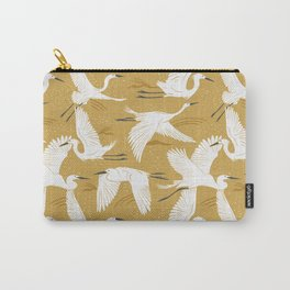 Soaring Wings - Goldenrod Yellow Carry-All Pouch