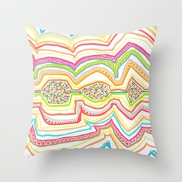 Drawing of childhood 2 Throw Pillow