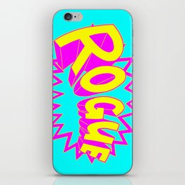 Rogue Pow Bam iPhone Skin
