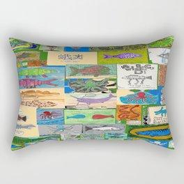 Kettle O Fish  Rectangular Pillow