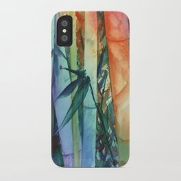 Kauai Rainbow Bamboo 2 iPhone Case