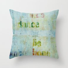 words 2 Throw Pillow