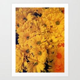 Hippie Flower Art Print