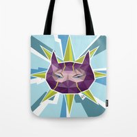 league of legends Tote Bags featuring Kennen - League of Legends by Sandy Tang
