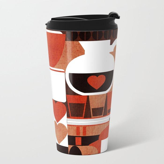 Coffee Story Metal Travel Mug