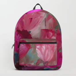 Breaking Dawn in Shades of Red and Pink Backpack