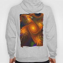 Energy, fractal abstract Hoody