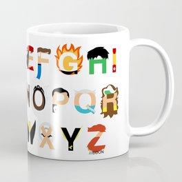 Marvelphabet Heroes Coffee Mug