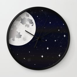 GIVE ME SOME SPACE Wall Clock