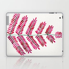 Pink Leaflets Laptop & iPad Skin