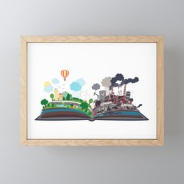 EcoBook Framed Mini Art Print