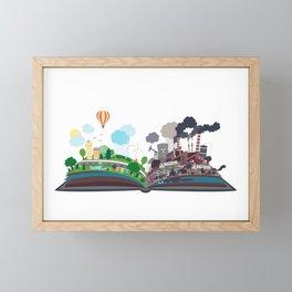 EcoBook Framed Mini Art Print