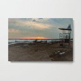 Port Stanley Beach Metal Print