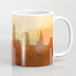 Cleveland, Ohio Skyline - In the Clouds Coffee Mug