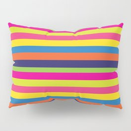 World of Stripes Pillow Sham