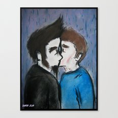 The Kiss Canvas Print