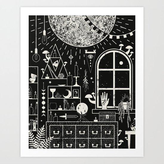 Moon Altar by camillechew