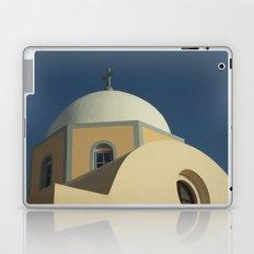 Santorini chapel Laptop & iPad Skin