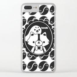 Apolo y el Fantasma Koko Clear iPhone Case