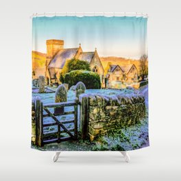 Snowshill View Shower Curtain
