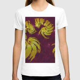 Blood Gold. Abstract Gold by Tito T-shirt