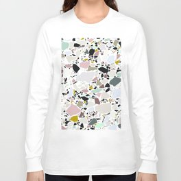 Terrazzo Pattern II. Long Sleeve T-shirt