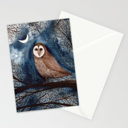 The Sentinel Owl Stationery Cards