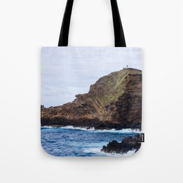 Porto Moniz, Madeira island, Portugal. Tote Bag