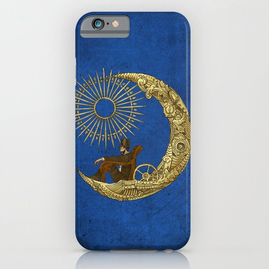 Moon Travel (Colour Option) iPhone & iPod Case