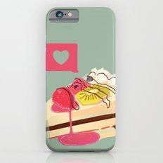 Berry Heart Cake Slim Case iPhone 6s