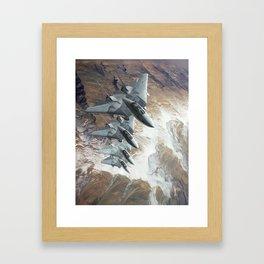 Diamondbacks Framed Art Print