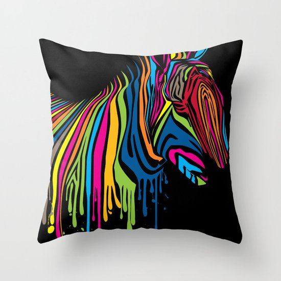 ZebrArt Throw Pillow