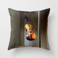 Visualise Beautiful Music Throw Pillow