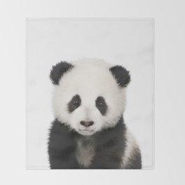 Panda Cub Throw Blanket