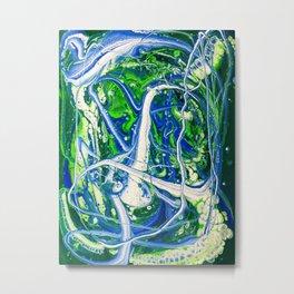 POUR ART 5 Metal Print