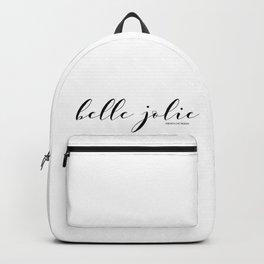 belle jolie Backpack
