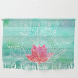 Lotus Blossom Wall Hanging