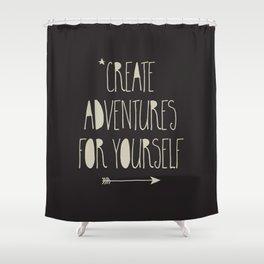Create Adventures Shower Curtain