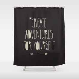 Create Adventures Shower Curtain