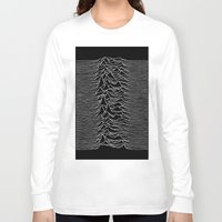 joy division Long Sleeve T-shirts featuring Joy Division 2 by NoHo