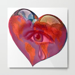 The Tears of Mother Earth Metal Print