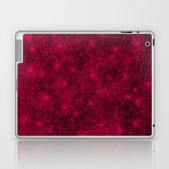 Sequin series red Laptop & iPad Skin