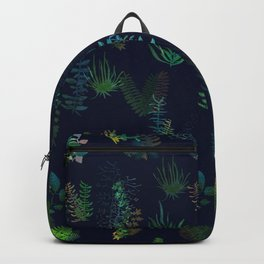 green garden at nigth power version Backpack